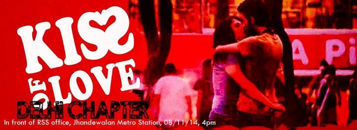 Kiss of Love Delhi chapter